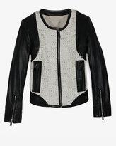 Barbara Bui Tweed/leather Jacket