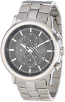 Kenneth Cole New York Men's KC9225 Dress Sport Triple Black Automatic Link Bracelet Watch