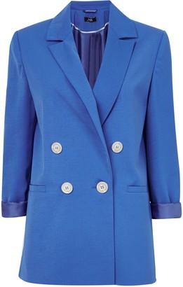 Wallis Blue Double Breasted Blazer
