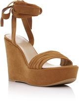 Stuart Weitzman Swifty Wedge Sandals