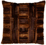 Sweet Dreams Faux-Beaver European Sham
