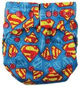 Bumkins Snap-in-One Cloth Diaper, Superman by