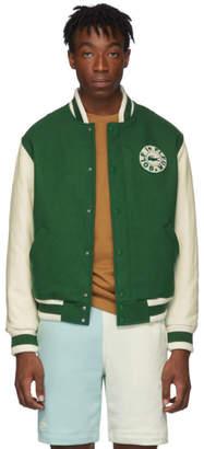 Lacoste Green Golf le Fleur* Edition Varsity Bomber Jacket