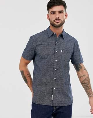 Levi's sunset short sleeve shirt-Blue