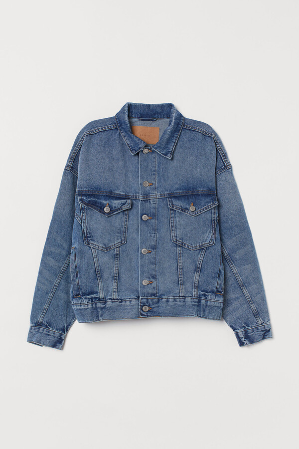 Thumbnail for your product : H&M Oversized Denim Jacket