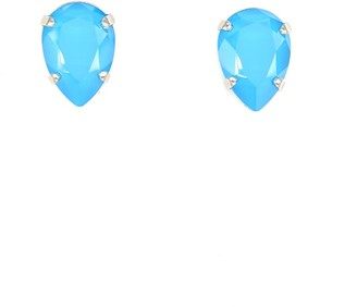 Rosaspina Firenze Drop Stud Earrings In Azure Blue