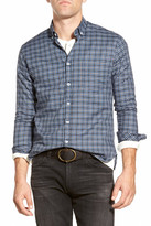 Billy Reid John T Trim Fit Plaid Sport Shirt
