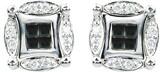 Effy Jewelry DiVersa Black and White Diamond Earrings, .50 TCW