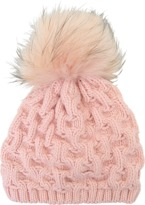 Inverni Short beanie in cashmere and fox