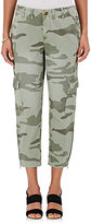 Current/Elliott Women's Camouflage-Print Cotton Cargo Pants
