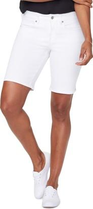 NYDJ Ella Side Slit Denim Shorts