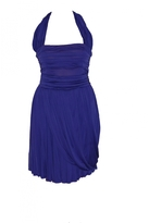 Celine Purple Viscose Dress
