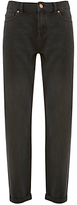 Mint Velvet Dakota Washed Boyfriend Jeans, Black