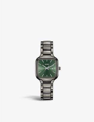 Rado R27077312 True Square Automatic high-tech ceramic watch