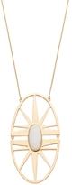 Trina Turk Sunburst Long Pendant Necklace