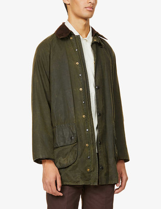 Barbour Re-Loved waxed cotton jacket