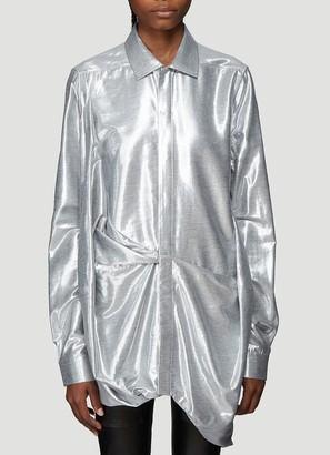 Rick Owens Metallic Effect Shirt
