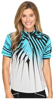 Jamie Sadock Electricity Print Short Sleeve Top