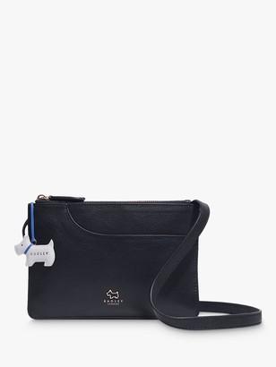 Radley London Pockets Medium Leather Cross Body Bag, Black