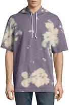 Arizona Short Sleeve French Terry Tie Dye Hoodie