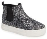 Ash Toddler Girl's Lynn Glittery Platform Sneaker Boot