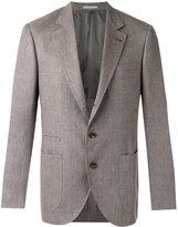 Brunello Cucinelli pocket front blazer - men - Silk/Linen/Flax/Cupro/Wool - 48