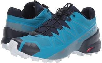 Salomon Speedcross 5 (Black/Black/Phantom) Men's Shoes