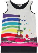 Junior Gaultier Fancy tank top