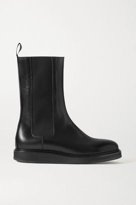 LEGRES 18 Leather Chelsea Boots - Black