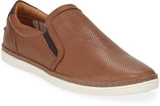Donald J Pliner Men's Travis Perforated Slip-On Sneaker