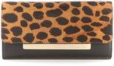 Vince Camuto Ensie Leopard-Print Haircalf Wallet