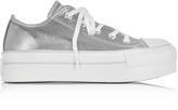 Converse Limited Edition Chuck Taylor Ox Platform Metallic Canvas Sneakers