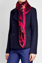 McQ Swallow Printed Scarf