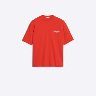 Balenciaga Oversized tee-shirt with political campaign logo