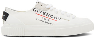 Givenchy Off-White Paris Tennis Sneakers