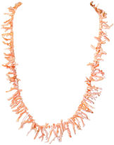 One Kings Lane Vintage Angel Skin Branch Coral Necklace