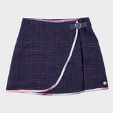 Paul Smith Girls' 7+ Years Glittery-Navy 'Melissa' Skirt