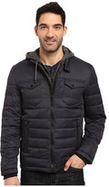 Buffalo David Bitton Zip Front Twill Jacket with Hood