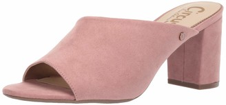 Sam Edelman Women's Suzanna Heeled Sandal Cameo Pink Microsuede 5.5 M US