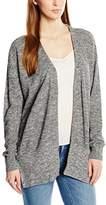Calvin Klein Jeans Cebu – Plain V Neck Long Sleeve Vest – Women's - Grey - XS