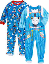 Thomas & Friends 2-Pk. Thomas the Tank Engine Footed Coveralls, Toddler Boys (2T-5T)