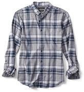 Banana Republic Camden-Fit Luxe Flannel Plaid Shirt