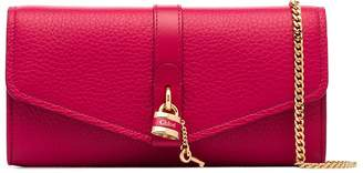 Chloé Aby leather clutch