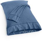 Calvin Klein Modern Cotton Print Standard Pillowcases, Set of 2