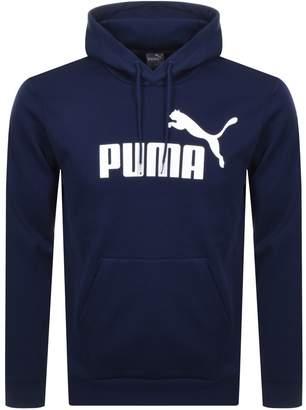 Puma Essentials Logo Hoodie Navy