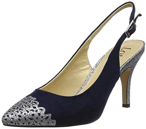 2f3d9f544df9 Navy Lotus Shoes - ShopStyle UK