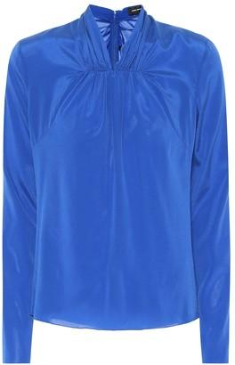 Isabel Marant Wanden stretch silk blouse