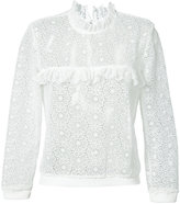 Anine Bing Lace Sweatshirt - women - Polyester - XS