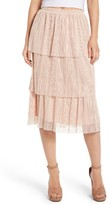 Leith Women's Plisse Pleated Skirt