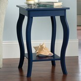 Laurèl Nedlands End Table Foundry Modern Farmhouse Color: Indigo Blue